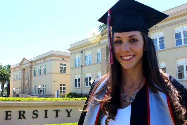 Saying goodbye at graduation