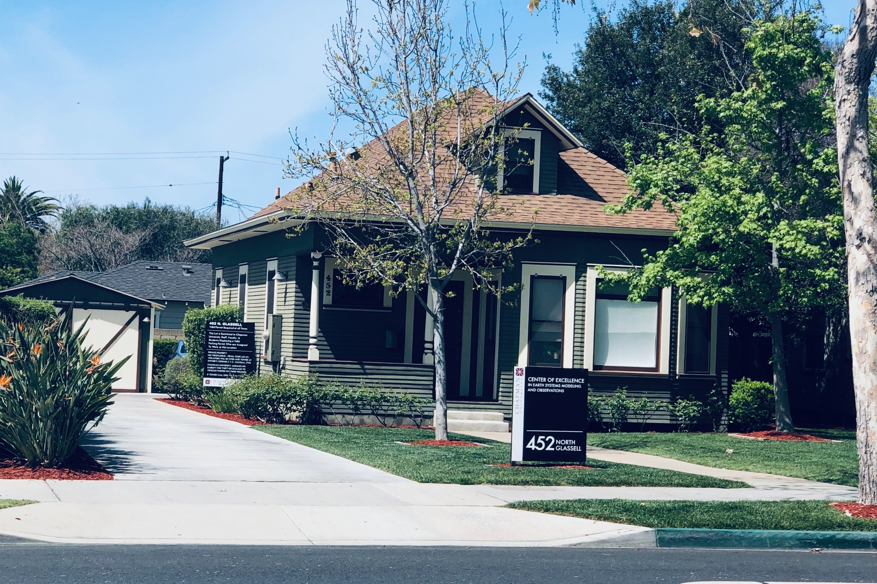 Chapman is not just a university; it's a major local landlord The housing market, development and culture of Old Towne Orange has been shaped by the presence of Chapman, despite pushback from local residents